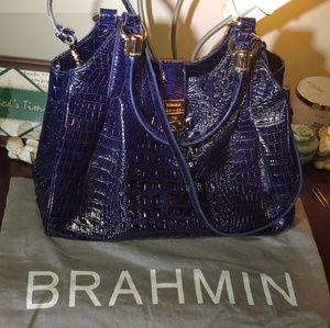 Brahmin Blue Hobo Bag